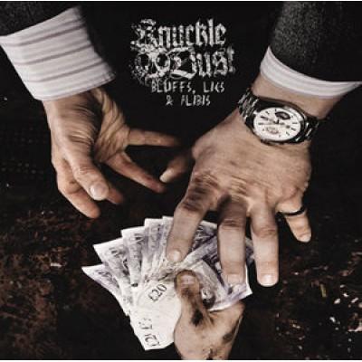 Knuckledust - Bluffs Lies & Alibis LP Oxblood Red Vinyl