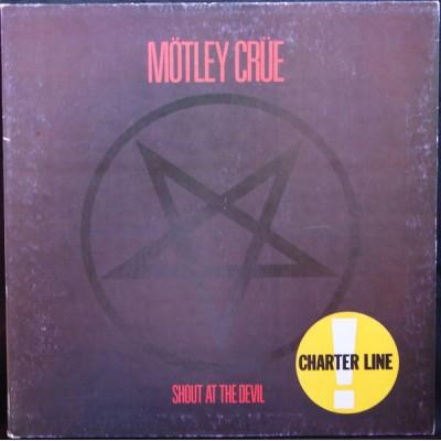 Mötley Crüe - Shout At The Devil LP 1983