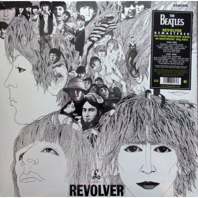 The Beatles - Revolver LP 2012 Reissue