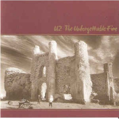 CD U2 ‎– The Unforgettable Fire (UK)