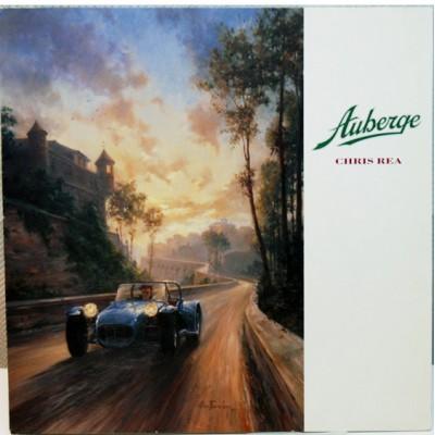 Chris Rea - Auberge LP 1991 Hungary + inlay