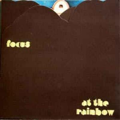 Focus – At The Rainbow LP UK 1973 Triple Foldout Sleeve