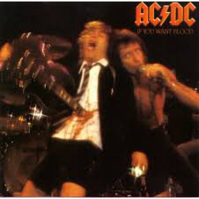 AC/DC ‎– If You Want Blood You've Got It LP UK