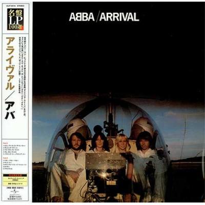 ABBA – Arrival LP Japan + OBI Strip + Inlay