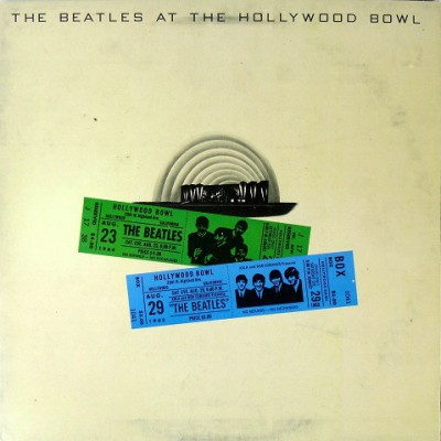 The Beatles - The Beatles At The Hollywood Bowl LP Gatefold