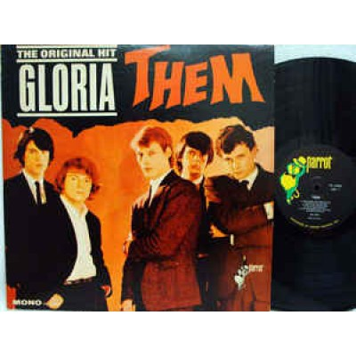 Them ‎– Here Comes The Night LP US 1965 Mono