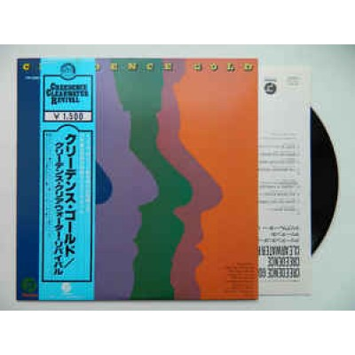 Creedence Clearwater Revival – Creedence Gold LP Japan + Japan Inlay