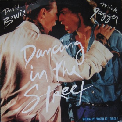 David Bowie And Mick Jagger - Dancing In The Street 12''