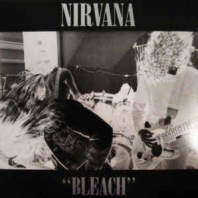 Nirvana ‎– Bleach LP US 2009 Reissue