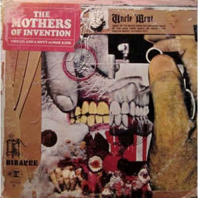 The Mothers Of Invention ( Frank Zappa )  – Uncle Meat 2LP US Gatefold 1968 First Press + Inlays