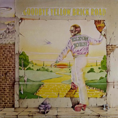 Elton John ‎– Goodbye Yellow Brick Road 2LP