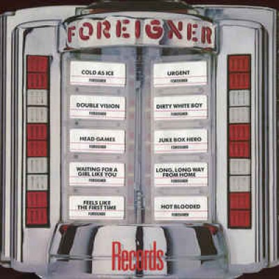 Foreigner ‎– Records LP Gatefold Embossed