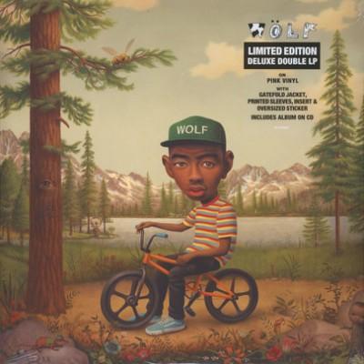 Tyler, The Creator - Wolf 2LP+CD Pink Vinyl Gatefold