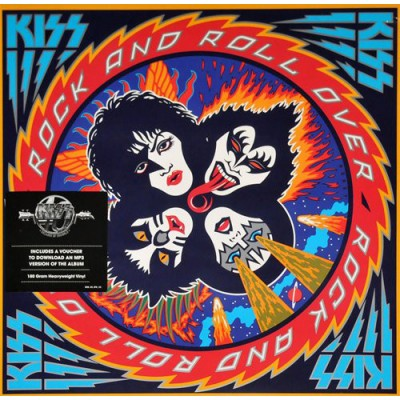 Kiss - Rock And Roll Over LP 2014 Reissue