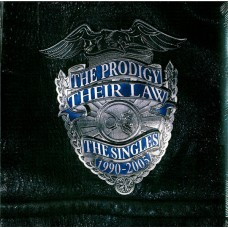 The Prodigy ‎– Their Law - The Singles 1990-2005 2LP Silver Vinyl