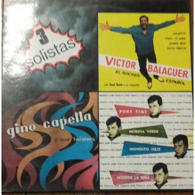 José Francis, Victor Balaguer, Gino Capella - Historia De La Música Pop Española Nº 73