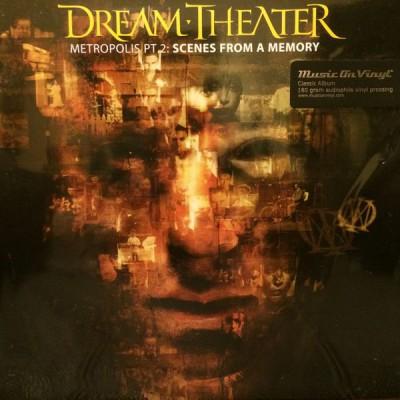 Dream Theater - Metropolis Pt. 2: Scenes From A Memory 2LP Ltd Ed Gatefold Orange / Gold Vinyl