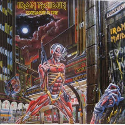 Iron Maiden - Somewhere In Time LP 2014 Reissue