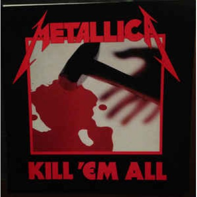 Metallica ‎– Kill Em All LP UK