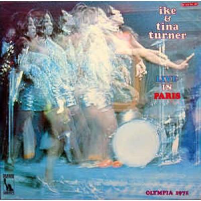 Ike and Tina Turner - Live In Paris 2LP Gatefold