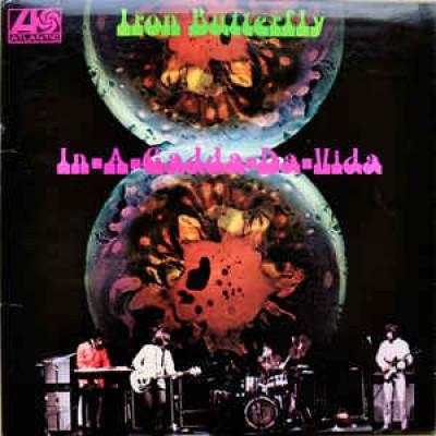 Iron Butterfly – In-A-Gadda-Da-Vida LP UK 1970 Reissue
