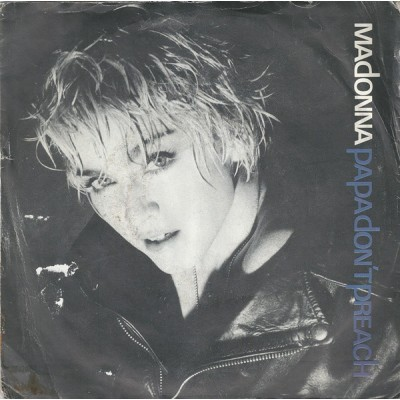 "Madonna - Papa Don't Preach 7"""