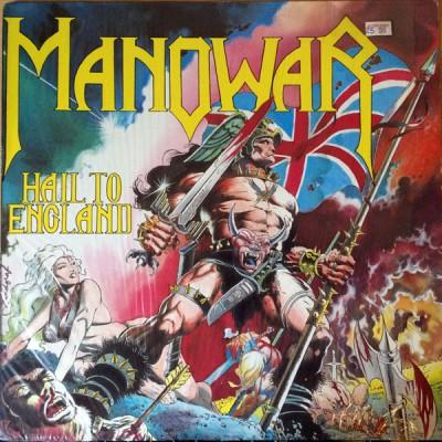 Manowar - Hail To England LP
