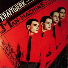 Kraftwerk - The Man Machine LP 1979 Yugoslavia + inlay