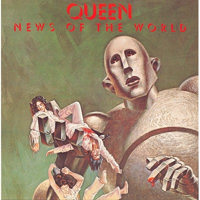 Queen - News Of The World LP Gatefold