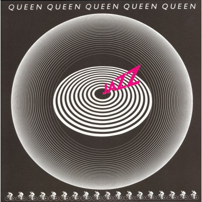 Queen - Jazz LP Embossed Cover  + Poster