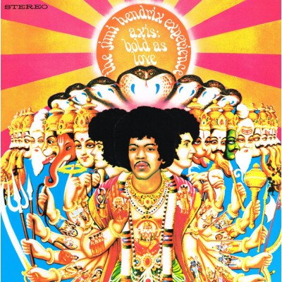 The Jimi Hendrix Experience - Axis: Bold As Love LP Gatefold + Booklet 2015 Reissue