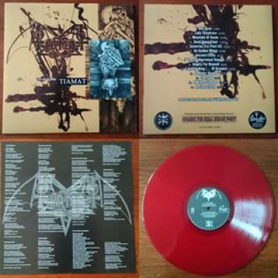 Tiamat - The Astral Sleep LP Red Vinyl Ltd Ed 100 copies