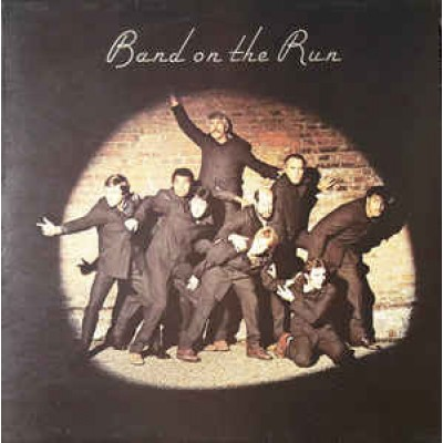 Paul McCartney And Wings – Band On The Run LP UK 1973 + Inlay