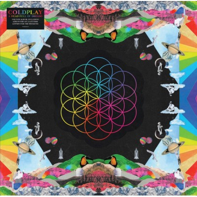 Coldplay - A Head Full Of Dreams 2LP Gatefold