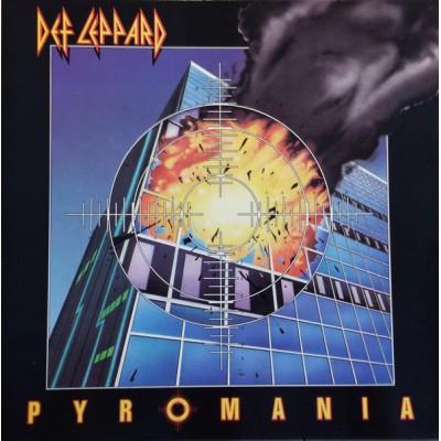 Def Leppard - Pyromania LP 1983 Holland + inlay