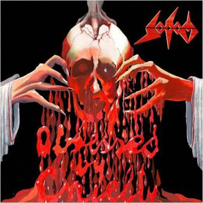 Sodom - Obsessed By Cruelty 2LP Red Vinyl US Gatefold