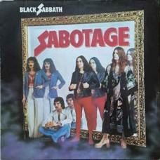 Black Sabbath ‎– Sabotage LP Germany 1975