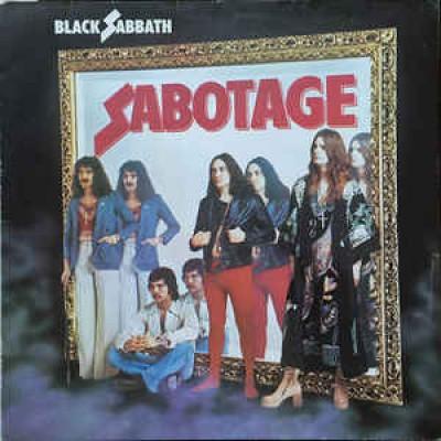 Black Sabbath – Sabotage LP Germany 1975