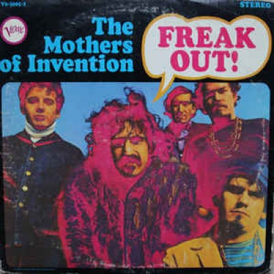 The Mothers Of Invention ( Frank Zappa ) ‎– Freak Out! 2LP US 1966 Gatefold