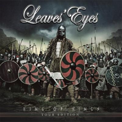 Leaves Eyes - King Of Kings Artbook 2CD+DVD Ltd Ed