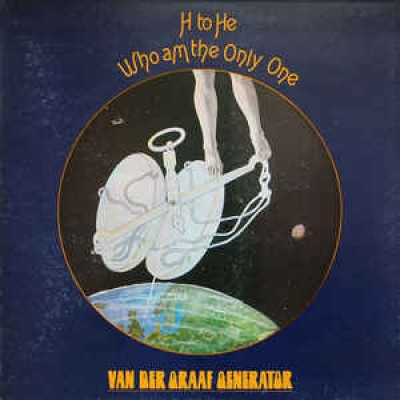 Van Der Graaf Generator ‎– H To He Who Am The Only One LP Gatefold Germany 1970
