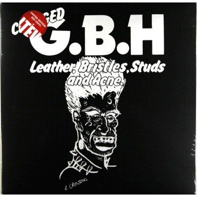 Charged G.B.H - Leather, Bristles, Studs And Acne LP Red Vinyl Ltd Ed