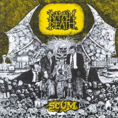 Napalm Death ‎– Scum LP 2016 Reissue