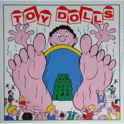 Toy Dolls – Fat Bobs Feet LP Pink Vinyl Gatefold 2017 Reissue
