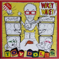 Toy Dolls ‎– Wakey Wakey! LP Red Vinyl Gatefold 2017 Reissue