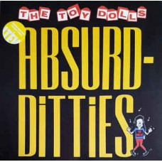 The Toy Dolls ‎– Absurd-Ditties LP Yellow Vinyl Gatefold 2017 Reissue