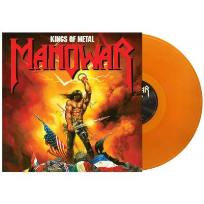 Manowar ‎– Kings Of Metal LP US Gold Vinyl Ltd Ed NEW 2018 Reissue