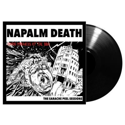 Napalm Death - Grind Madness At The BBC - The Earache Peel Sessions LP 2014 Reissue