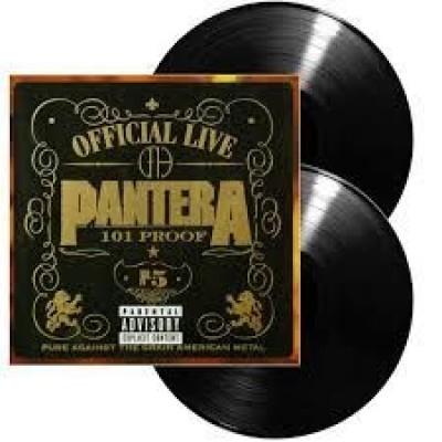 Pantera - Official Live: 101 Proof 2LP