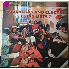 Pacific Gas And Electric ‎– Estas Lista? LP Argentina 1969